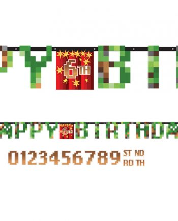 TNT Party Add An Age Birthday Banner