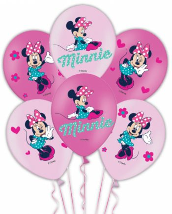 Minnie Mouse Full Colour Printed Latex Balloons