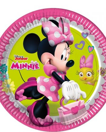 Minnie Mouse Happy Helpers Party Paper Plates