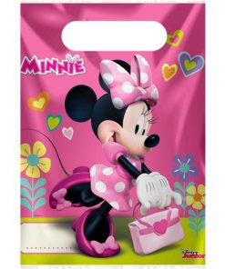 Minnie Mouse Happy Helpers Party Plastic Loot Bags