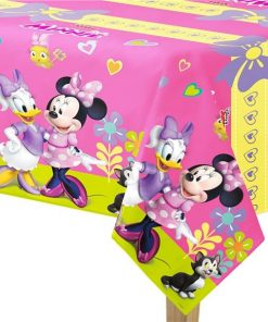 Minnie Mouse Happy Helpers Party Plastic Tablecover