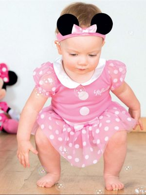 Minnie Mouse Pink Jersey Costume