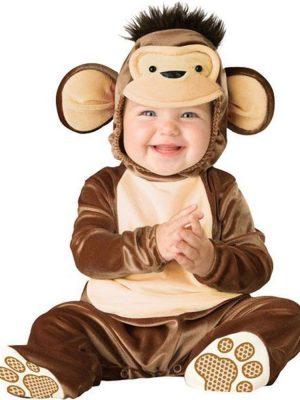 Little Mischievous Monkey Baby costume
