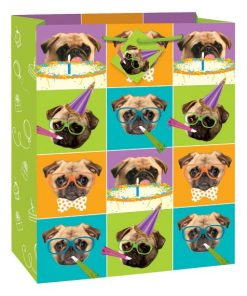 Pug Puppy Party Gift Bag