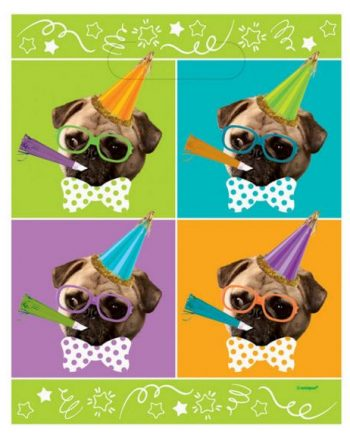 Pug Puppy Party Loot Bags