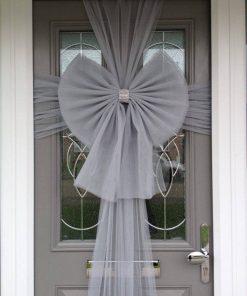 Silver Door Bow Decoration & Buy Silver Door Bow - Fun Party Supplies - Next Day Delivery