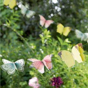 Truly Fairy Butterflies Bunting