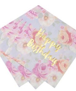 Truly Scrumptious Party Happy Birthday Napkins