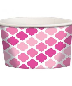 Pink Buffet Treat Tubs