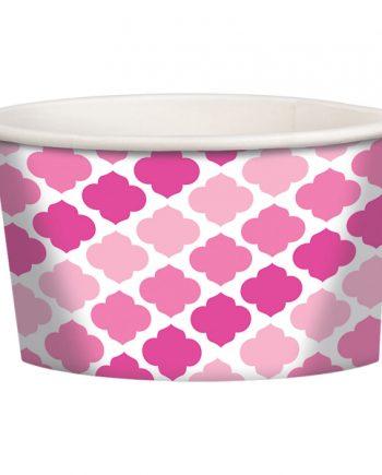 Pink Buffet Treat Tubs