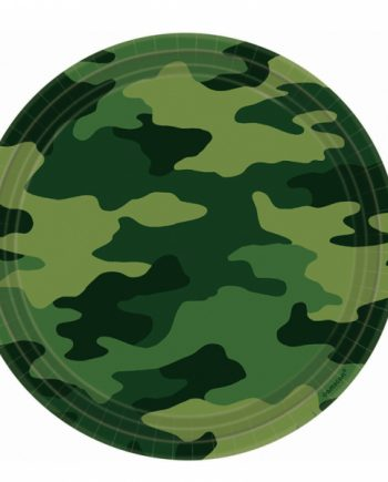 Army Camo Soldier Party