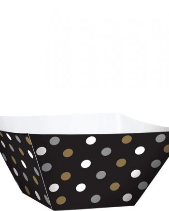 Black Buffet Black Mini Square Bowl