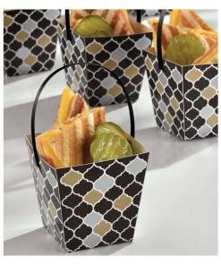 Black Treat Cups with Handles