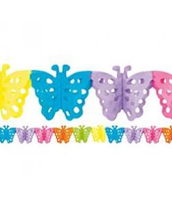 Butterfly Paper Garland Decoration
