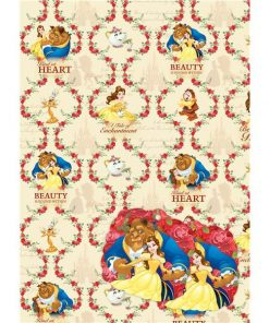 Disney-Beauty-and-the-Beast-Wrapping-Paper-Tags-