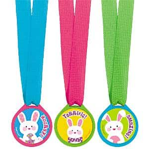 Easter Party Award Medals