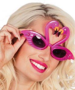 Flamingo Novelty Glasses