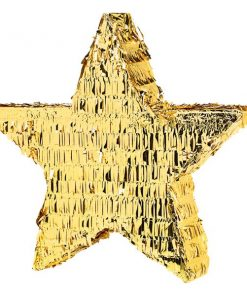 Gold Foil Star Pinata