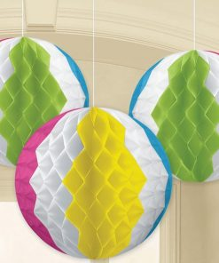 Hawaiian Honeycomb Beach Ball Decorations