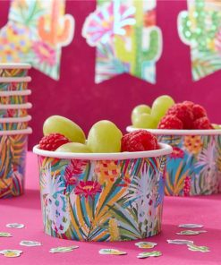 Hot Summer Party Ice Cream Tubs
