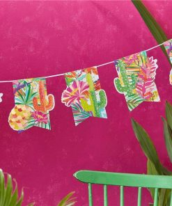 Hot Summer Party Paper Bunting