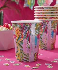 Hot Summer Party Paper Cups