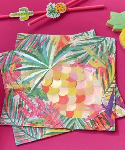Hot Summer Party Paper Napkins