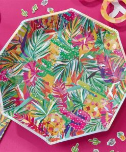 Hot Summer Party Paper Plates