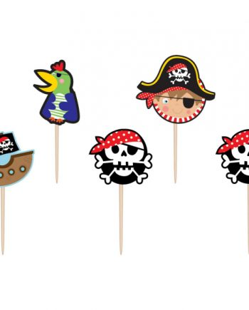 Little Pirate Party Candles