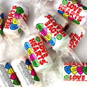 Swizzels Mini Love Hearts Sweets