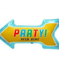 Party Arrow Foil Balloon