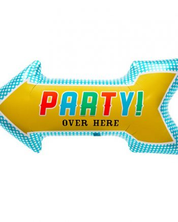 Party Arrow Foil Balloon