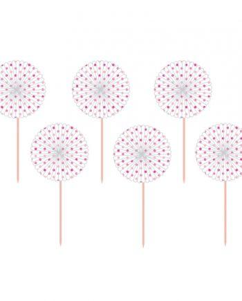 Pink Fan Paper Pick