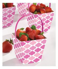 Pink Treat Cups with Handles