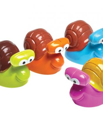 Pull Back Racing Snails