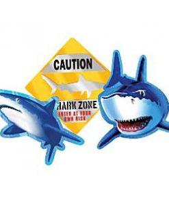 Shark Splash Party Shark Splash Cutout