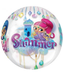 Shimmer & Shine Party Orbz Balloon