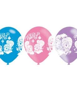 Shimmer & Shine Party Printed Latex Balloons