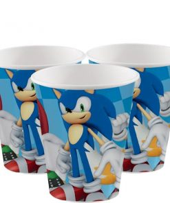 Sonic The Hedgehog Paper Cups