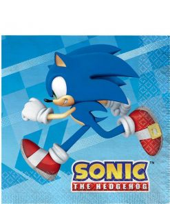 Sonic The Hedgehog Paper Napkins