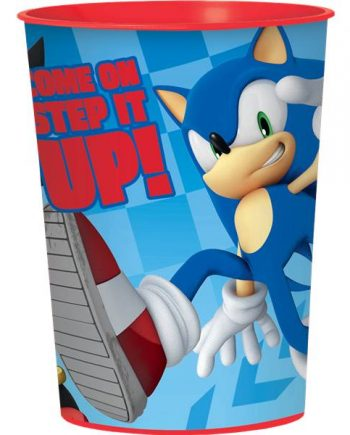 Sonic The Hedgehog Party Plastic Favour Cup