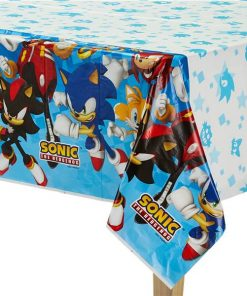 Sonic The Hedgehog Party Plastic Tablecover