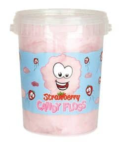 Strawberry Candy Floss Tub