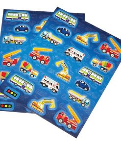 Transport themed Party Stickers