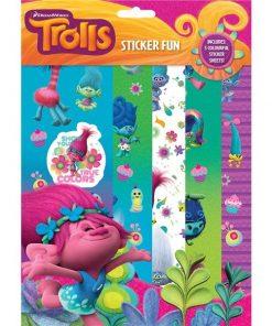 Trolls Party Sticker Fun Pack
