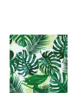 Tropical Fiesta Party Palm Cocktail Napkins
