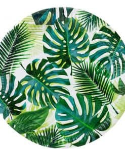 Tropical Fiesta Palm Paper Plates