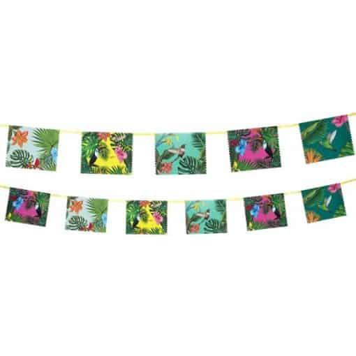 Tropical Fiesta Party Paper Bunting