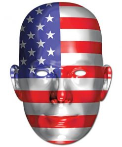 USA American Flag 4th July Mask