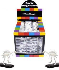 Bulk Pocket Money Toys - 3D Fossil Puzzles